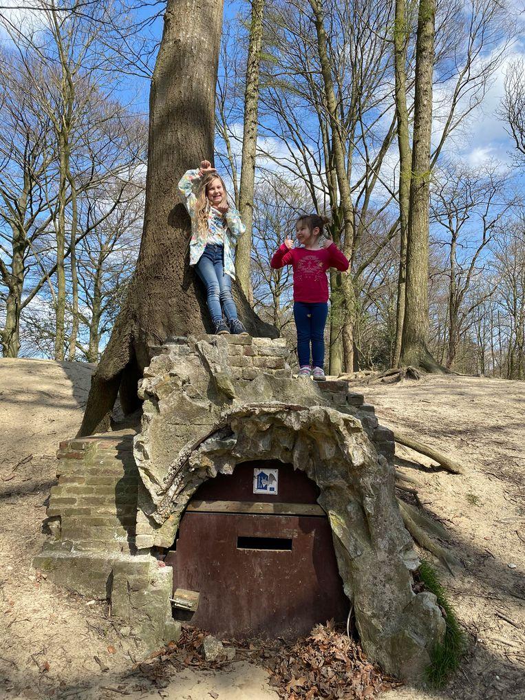 Het bos van de Scouts Aalter.