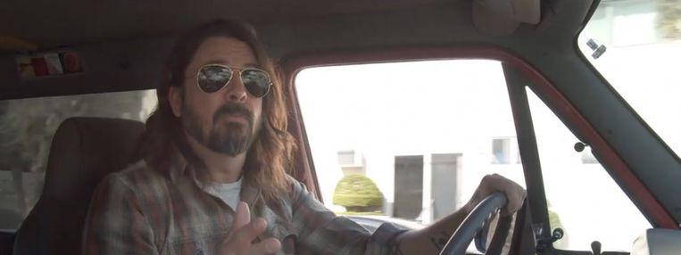 Dave Grohl in What Drives Us. Beeld
