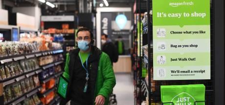 """Amazon ouvre à Londres une épicerie """"sans contact"""" ni caisses"""