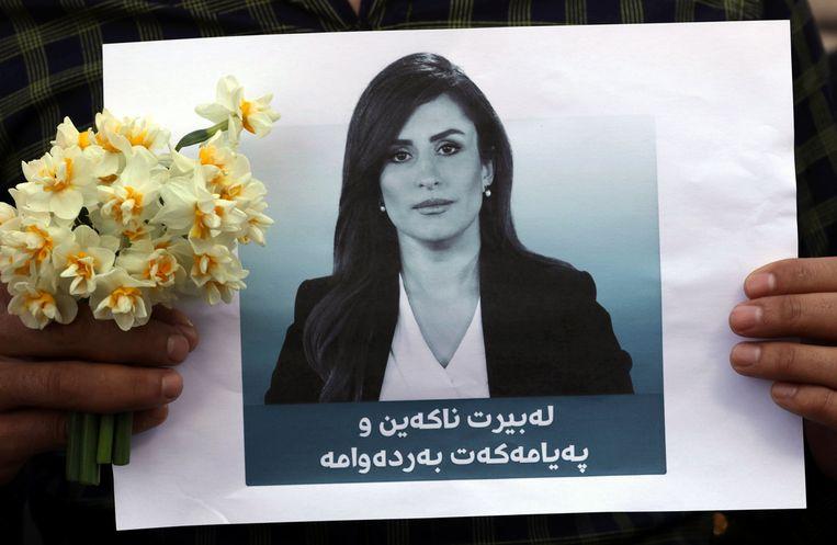Een portret van Shifa Gardi. Beeld AFP