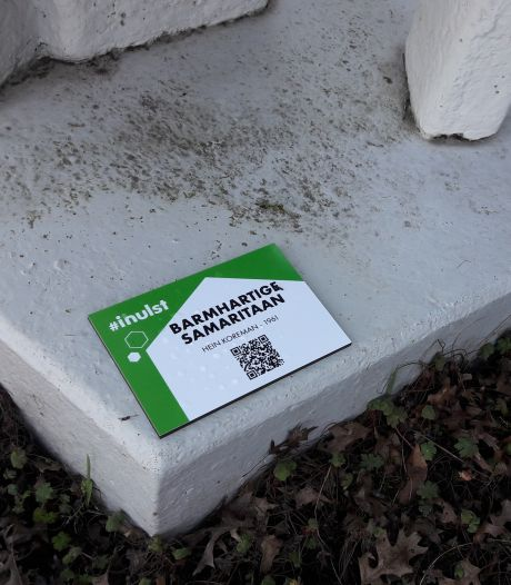 Zeventien kunstwerken in Hulst voorzien van informatiebordje en QR-code