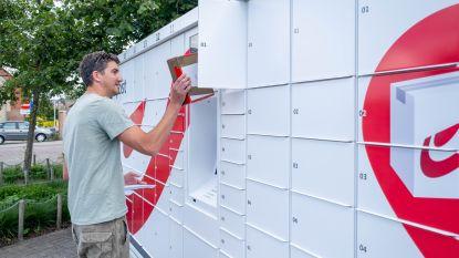 Eerste pakjesautomaat in Nijlen officieel geopend op Pastoor Schelkensplein
