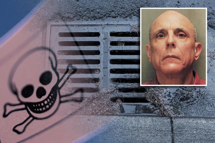 Richard O'Rourke stal extreem giftige kaliumcyanide om thuis ongedierte te bestrijden