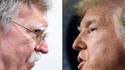 """Trump: """"Als ik naar Bolton geluisterd had zouden we nu al in de Zesde Wereldoorlog zitten"""""""