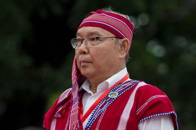Mahn Win Khaing Than, waarnemend voorzitter van de voormalige regering Beeld AFP