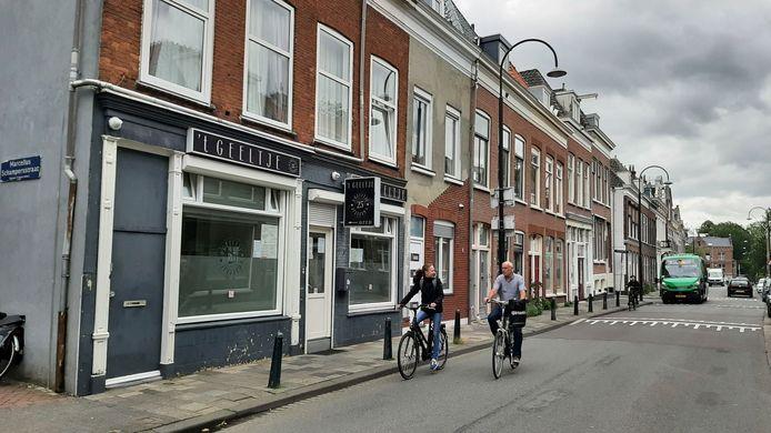 Coffeeshop 't Geeltje in Dordrecht.