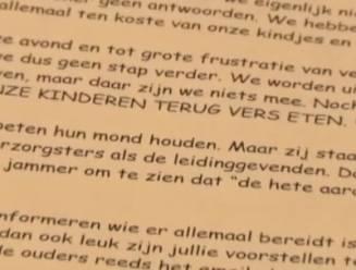 """Boze ouders hekelen maaltijden in stadscrèche Sint-Niklaas: """"Kinderen lusten het niet en komen met honger terug"""""""