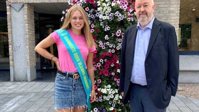 Tatjana uit Buizingen wil Miss Vlaams-Brabant worden en kan rekenen op steun van burgemeester