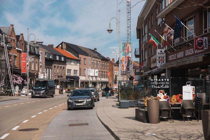 In de Vennestraat belooft men live muziek.