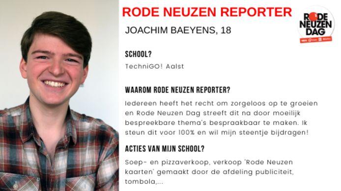Dit artikel werd gemaakt door Rode Neuzen Reporter Joachim