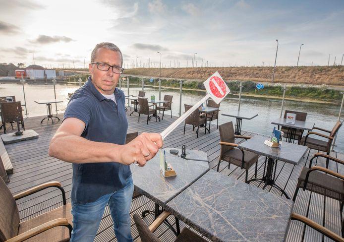 Eigenaar Eric Lentink van Restaurant De Schelde