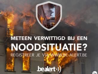 Geraardsbergen doet mee aan test alarmeringssysteem BE-Alert