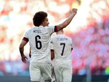 """Roberto Martinez impressionné par Axel Witsel: """"C'est un exemple pour tous les jeunes"""""""