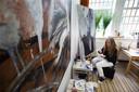 Schilderen heeft een helende werking, het maakt niet uit of je talent hebt.