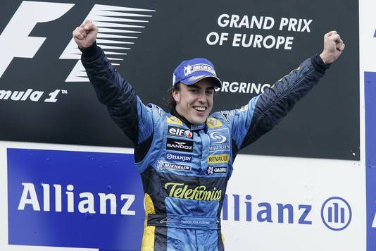 Fernando Alonso in 2005