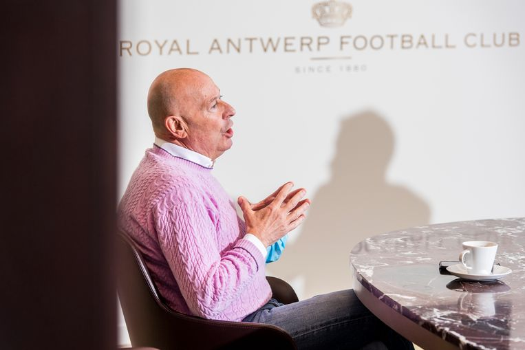 Luciano D'Onofrio is sportief directeur van Royal Antwerp FC. Beeld Frederik Beyens