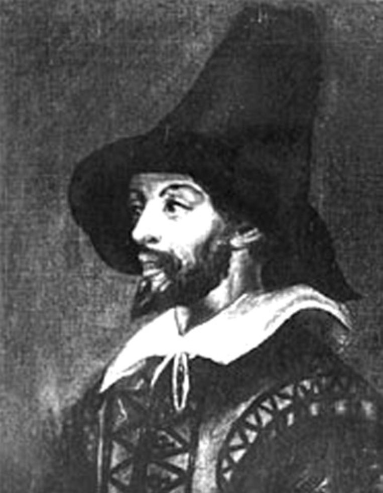 Portret van Guy Fawkes