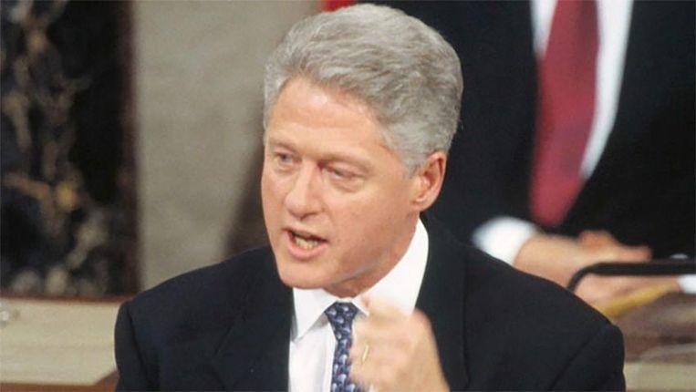 Tegen Bill Clinton werd in 1998 een impeachement-procedure gestart. Beeld rv