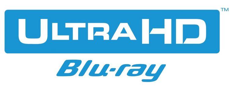 Het logo van Ultra HD Blu-Ray. Beeld Blu-Ray