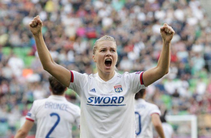 Ada Hegerberg deed afgelopen maand niet mee aan het WK met Noorwegen, maar zal op de International Champions Cup weer te zien zijn in het shirt van Olympique Lyon. De Franse topclub won de afgelopen vier jaar de Champions League voor vrouwen.