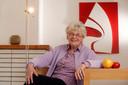 Paula Semer in haar appartement in Brussel.