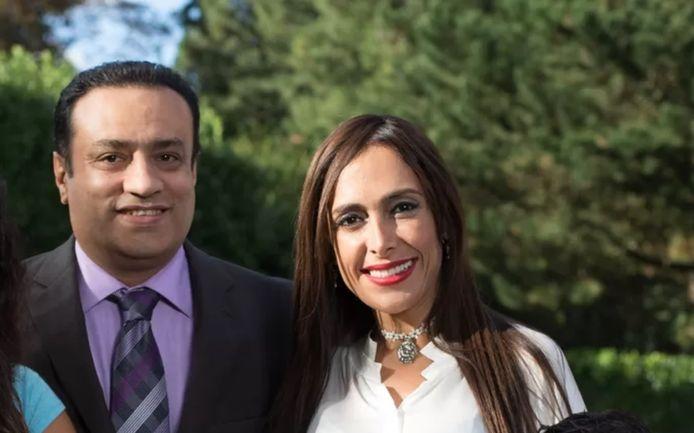 Saeed Bashirtash et Darya Safai (N-VA)
