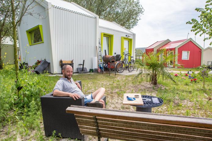 Bij de Weezenhof in Nijmegen zijn plannen voor skaeve huse ofwel zorgwoningen nog niet van de baan.