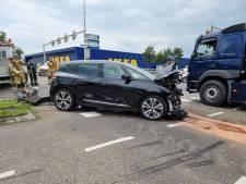 Verkeershinder door botsing op A1 bij Hengelo
