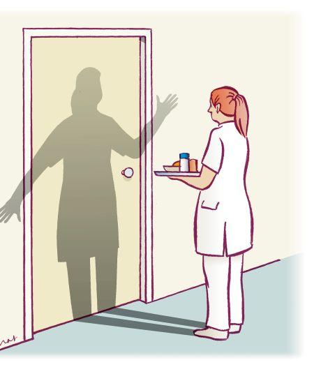 'In het hele verpleeghuis was maar één spatbril aanwezig'