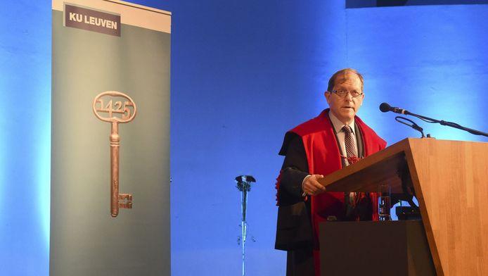 Rik Torfs, recteur de la KUL