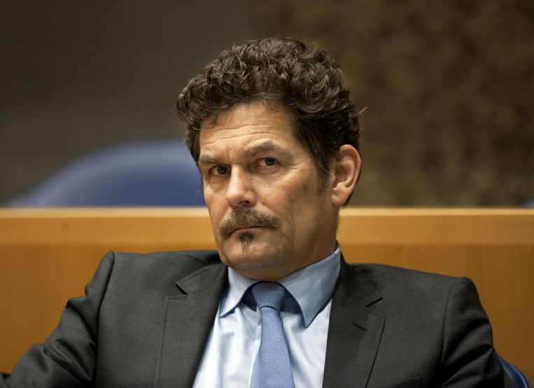PVV-Kamerlid Harm Beertema (foto) stelde in de Kamer vragen omtrent de compensatieregeling van de UvA. ©ANP Beeld