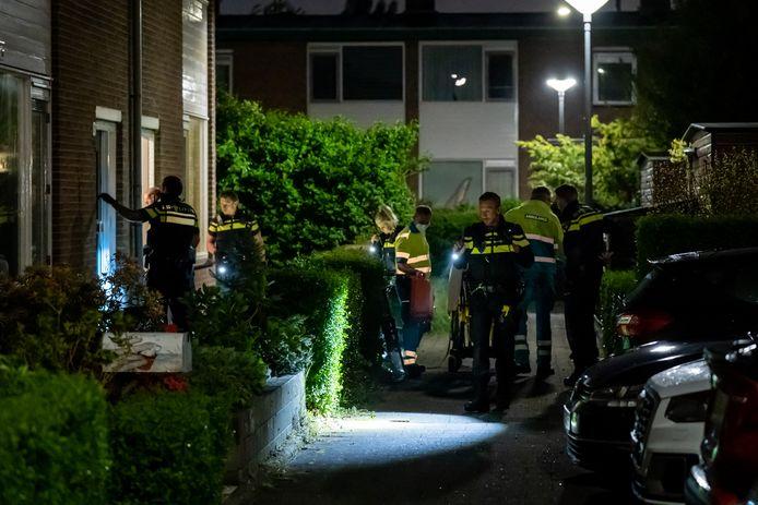 Een 59-jarige man uit Rotterdam is vannacht gewond geraakt bij een steekpartij.