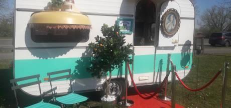Quarantaine-diner voor twee; caravan vervangt restaurant