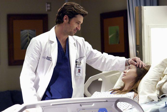 Patrick Dempsey in Grey's Anatomy.