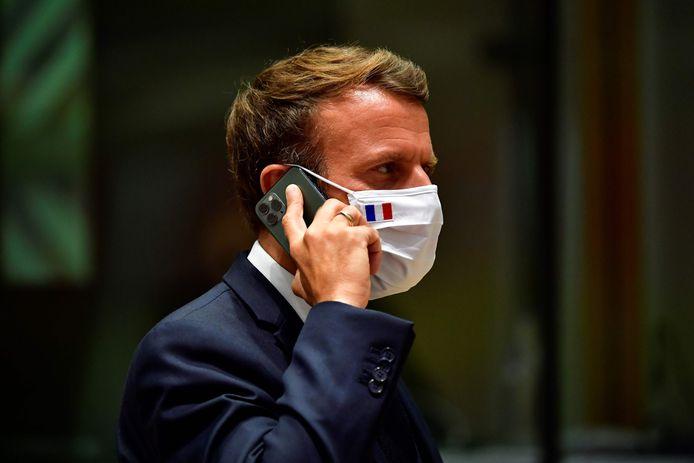 De Franse president Emmanuel Macron (archiefbeeld).