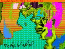 Des oeuvres numériques de Wharol découvertes trente ans après