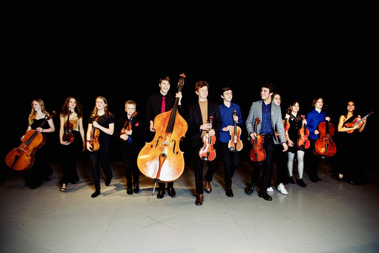 Vrijdag verzorgt het Nederlands Jeugd Strijkorkest een lunchconcert. Beeld Sarah Wijzenbeek