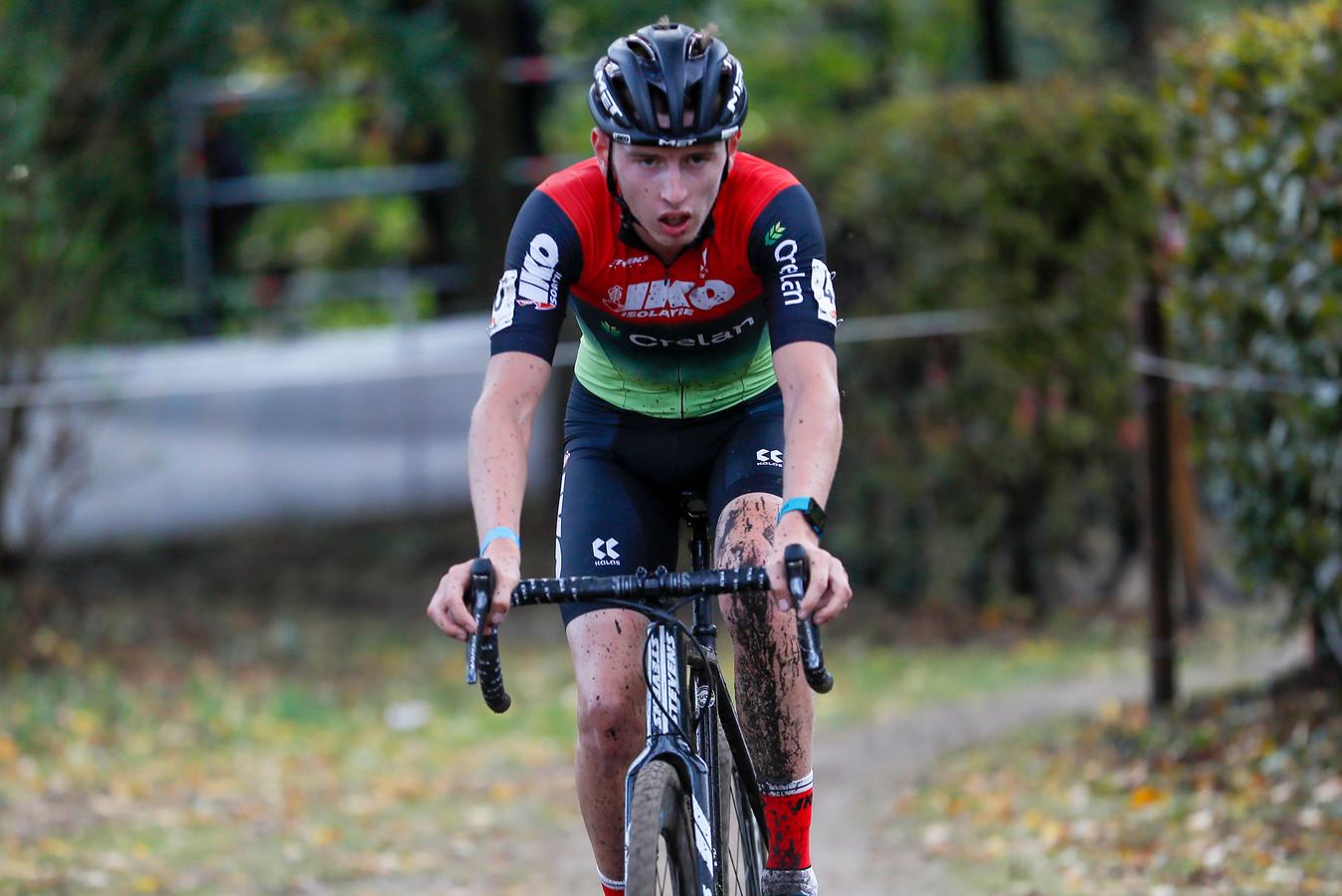 Belofte Wout Vervoort, in het seizoensbegin 35ste in de Rapencross in Lokeren, pakte zondag in Polen zijn eerste podiumplaats bij de elite.