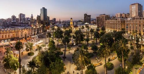 De toeristen hadden een appartement gehuurd in Santiago, de Chileense hoofdstad