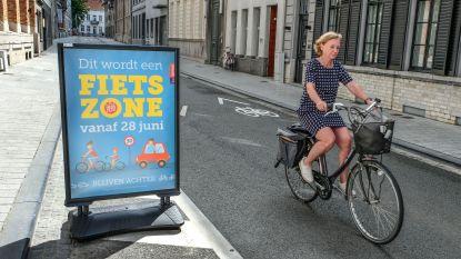 Vrijdag opent grootste fietszone van Vlaanderen in Kortrijk: ook bussen en taxi's achter fietsers