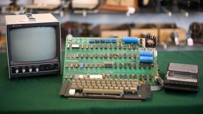 """""""Een koopje"""": liefhebber betaalt meer dan 100.000 euro voor Apple 1"""