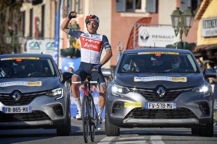 Gianluca Brambilla kroonde zich met zijn ritzege ook tot eindwinnaar.