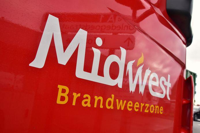 De brandweer van de zone Midwest, post Wingene, snelde ter plaatse naar de Verrekijker.
