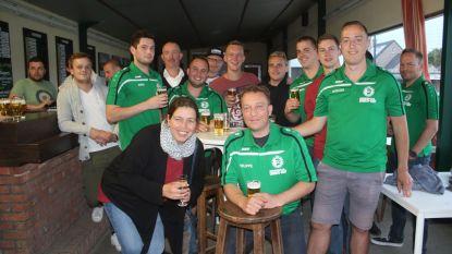 Supportersclub Sparta Haacht Statie in de bloemetjes gezet