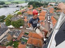 Gemeente: abseilen toren Hasselt niet toegestaan