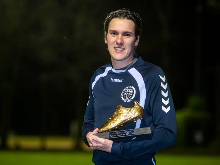 Van Laarhoven na honderd goals voor Blauw-Wit'81: 'Ik sta gewoon op de goede plek'