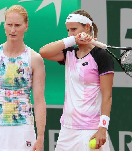 Greet Minnen et Alison Van Uytvanck en 8es de finale du double à l'US Open, en attendant Elise Mertens