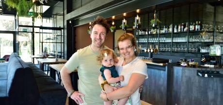Kind krijgen én restaurant beginnen in coronatijd, Karlin en Laurence deden het: 'We groeien mee met de versoepelingen'