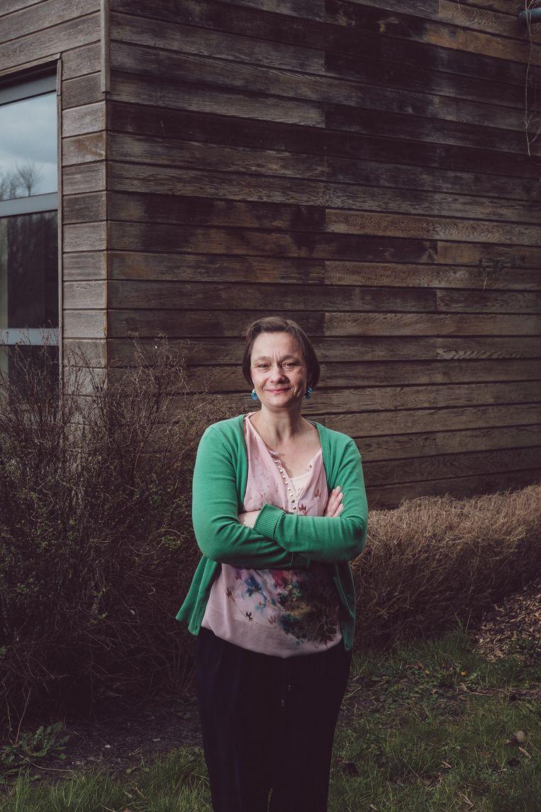 Erika Vlieghe. Beeld Wouter Van Vooren