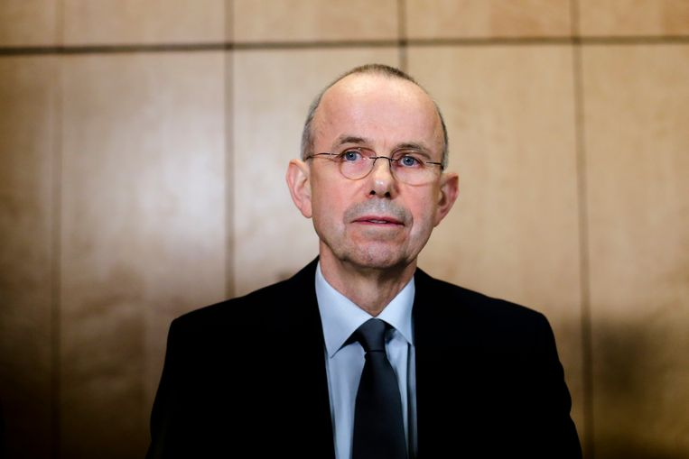 Günter Lubitz, vader van Andreas, de copiloot die het Germanwings-toestel bewust zou hebben laten neerstorten in de Alpen. Beeld AP